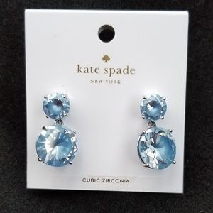 Kate spade Jewelry - Kate Spade Cubic Zirconia earrings